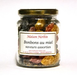 Bonbons au Miel - saveurs assorties - Maison Herbin