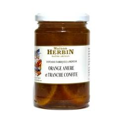 Orange amère tranches d Orange confite - Maison Herbin Menton