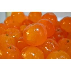 Scatola di clementine candite
