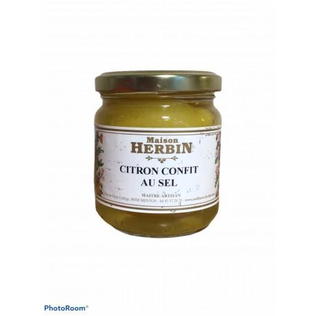 Citron confit au sel