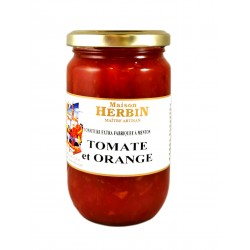 confiture artisanale de Tomate - Orange - Maison Herbin