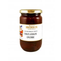 confiture artisanale de Tomate - Aubergine - Gimgembre