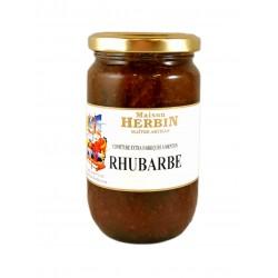 confiture de Rhubarbe de la maison herbin à menton
