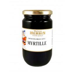 Confiture Artisanale de Myrtille - Maison Herbin