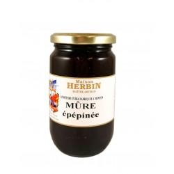 Confiture artisanale de Mûre épépinée - Maison Herbin