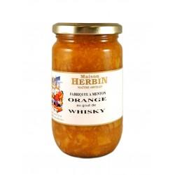 Confiture d'Orange au goût de Whisky-Maison Herbin