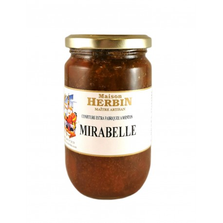 Confiture artisanale de Mirabelle - Maison Herbin
