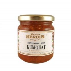 Confiture artisanale de Kumquat - Maison Herbin