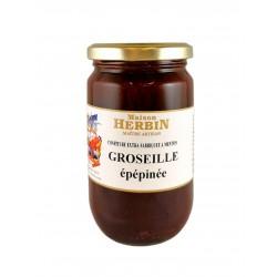 Confiture artisanale de Groseille épépinée - Maison Herbin