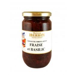 Fragola e Basilico - Marmellata artigianale
