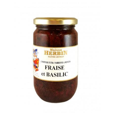 Fraise et Basilic - Confiture artisanale