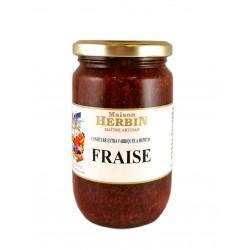 Fraise - Confiture artisanale Maison Herbin à Menton