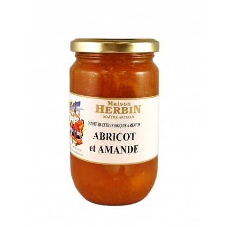 Abricot et Amande - Confiture Artisanale