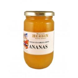 Ananas - Confiture Artisanale Maison Herbin Menton