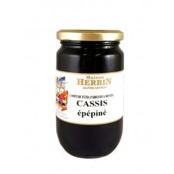 Cassis Epépiné - Confiture Artisanale Maison Herbin à Menton