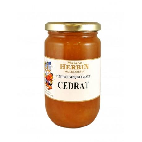 Cédrat - Marmellata artigianale della Maison Herbin a Mentone.