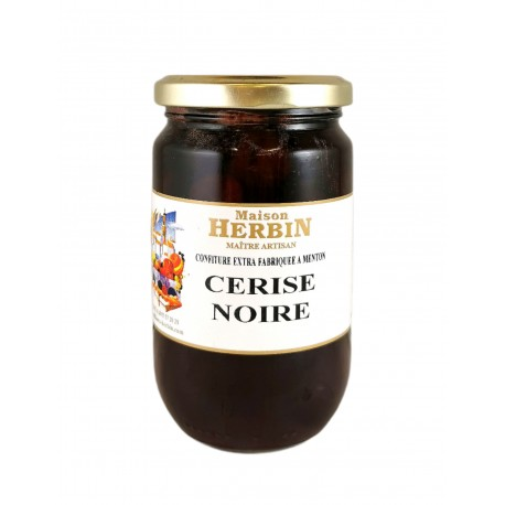 Cerise noire - Confiture Artisanale Maison Herbin