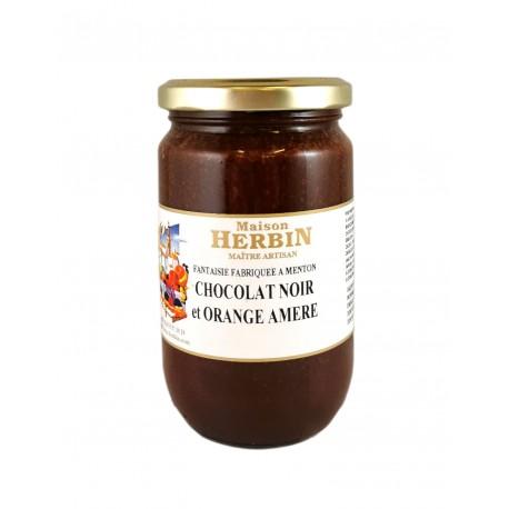 Chocolat noir et Orange amère - Confitures Artisanales Menton