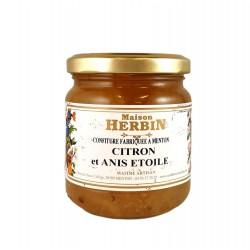 Citron et Anis étoilé - Confitures Artisanales
