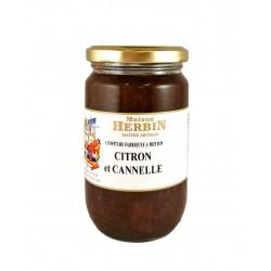 Citron - Cannelle - Confiture artisanale.