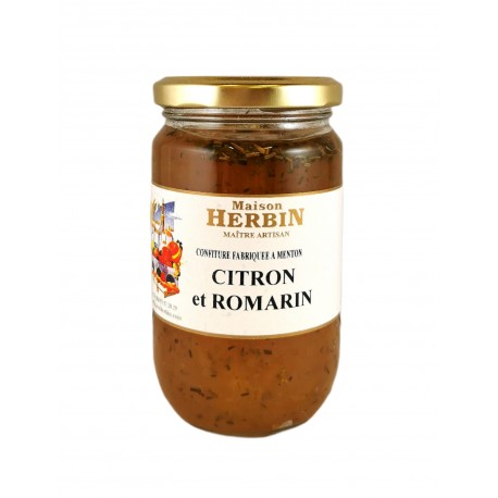 Citron et Romarin - Confitures Artisanales