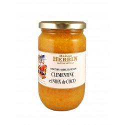 Clémentine - Noix de coco - Confiture Artisanale
