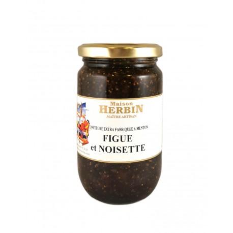 Figue et Noisette - Confiture artisanale Maison Herbin à Menton