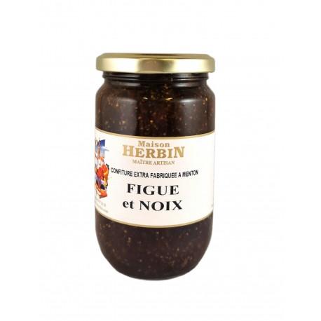 Figue et Noix - confiture artisanale Maison Herbin à Menton