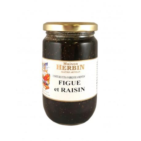 Figue et Raisin - Confiture artisanale Maison Herbin à Menton