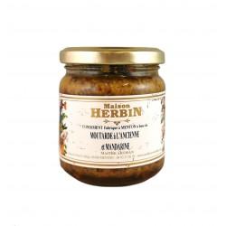 Moutarde à l'Ancienne et Mandarine - Maison Herbin