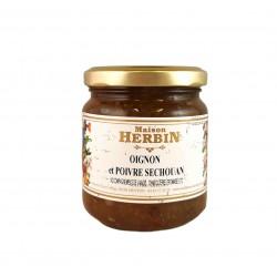 Cipolla confit e pepe di Séchouan
