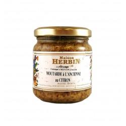 Moutarde au Citron de Menton - Maison Herbin