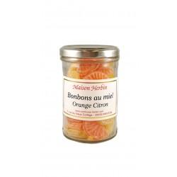 Bonbons au Miel - Tranches Orange-Citron - Maison Herbin